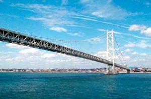 Akashi-kaikyo puente colgante