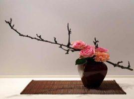 Ikebana, arreglo floral japones