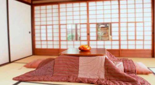 Kotatsu, la mesa japonesa para el frío