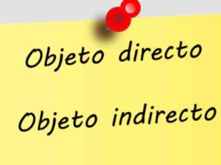 Objeto directo y objeto indirecto