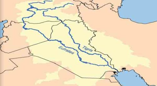 Tigris Y Eufrates Mapa.Rio Tigris Y Eufrates Caracteristicas Y Ubicacion El